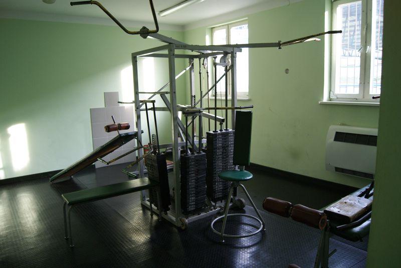 Siłownia - Tereny rekreacyjne TOSiR