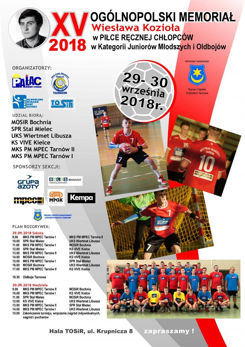 Plakat XV MWK 2018